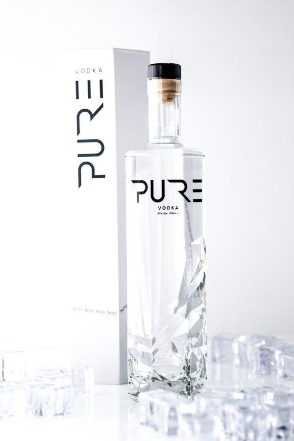 PURE Organic Vodka Gift Boxed 2