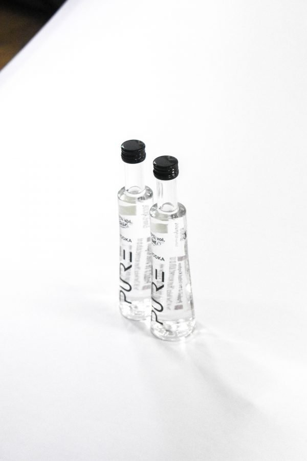 PURE Organic Vodka Miniature 4