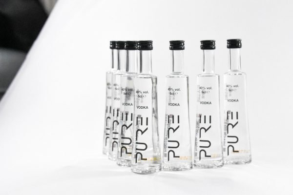 PURE Organic Vodka Miniature 12